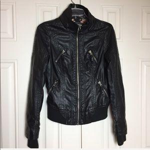 Motorcycle Moto Jacket | Size Small |